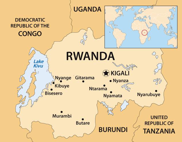 RwandaMap