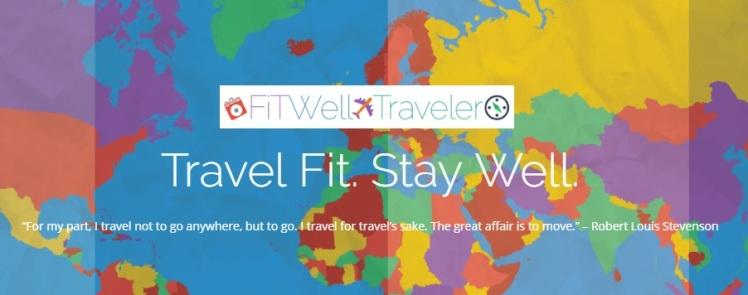 Fitwell traveller logo